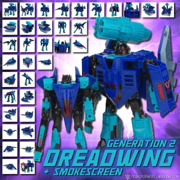 G2 Dreadwing & Smokescreen