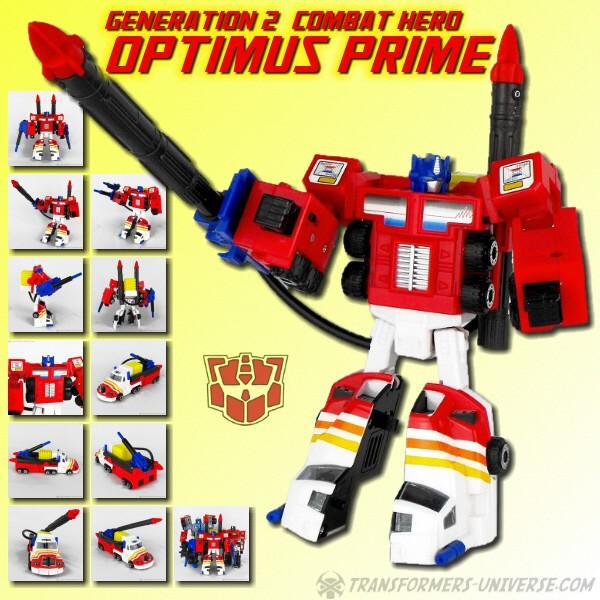 G2 Optimus Prime Combat Hero