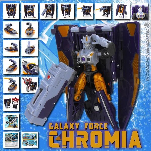 Galaxy Force GD-11 Chromia