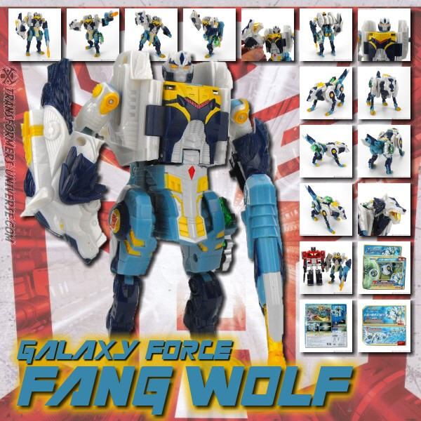 Galaxy Force GC-14 Fang Wolf