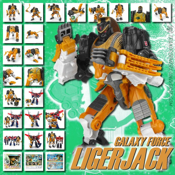 Galaxy Force GC-16 Ligerjack