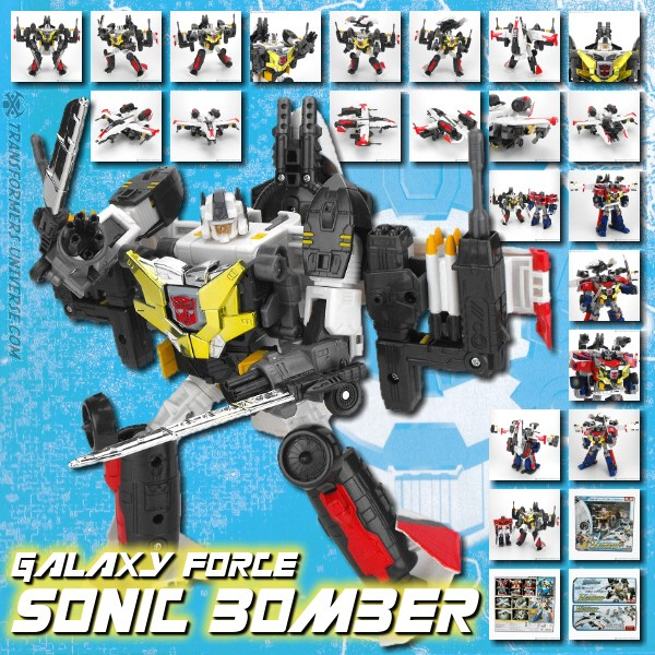 Galaxy Force GC-22 Sonic Bomber