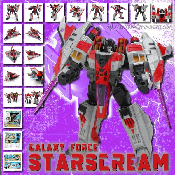 Galaxy Force GD-03 Starscream