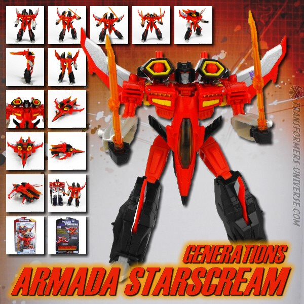 Generations Armada Starscream