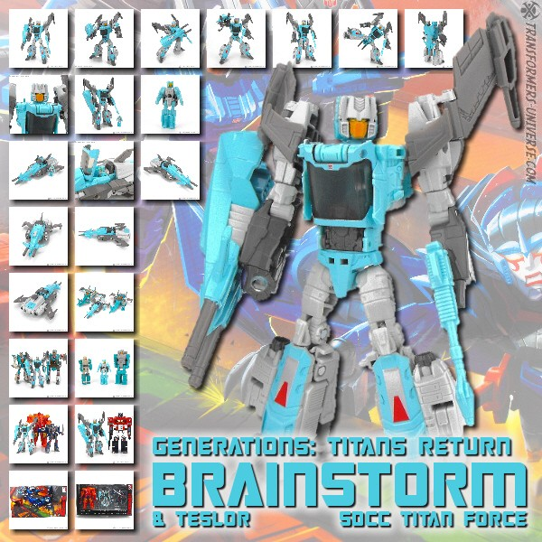 Titans Return Brainstorm & Teslor