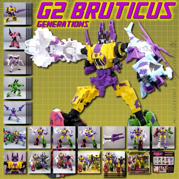 Generations Fall of Cybertron Bruticus G2 (2012)