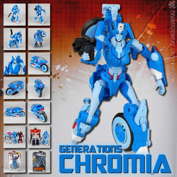 Generations Thrilling 30 Chromia (2014)
