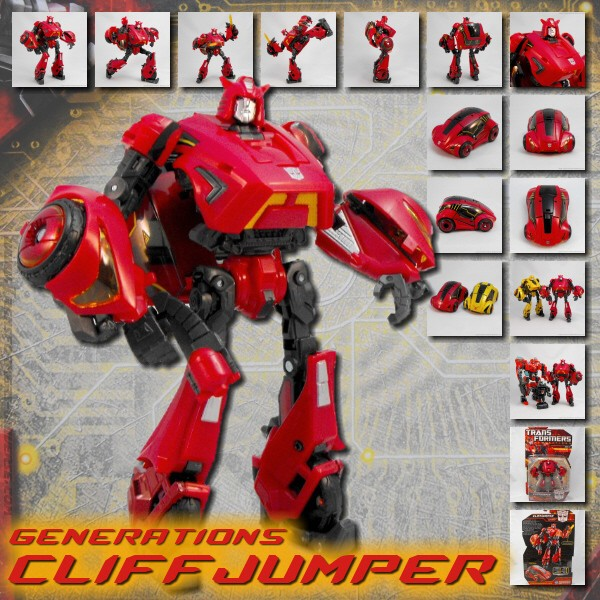 Generations  Cliffjumper (2010)