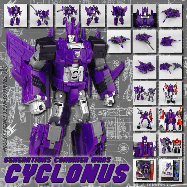 Combiner Wars  Cyclonus (2015)