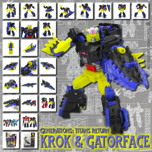 Titans Return Krok & Gatorface