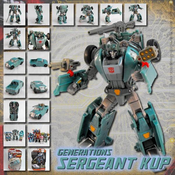 Generations Sergeant Kup