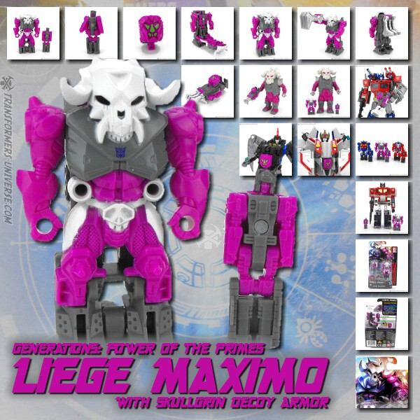 Power of the Primes Liege Maximo