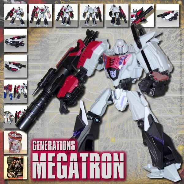 Generations Megatron