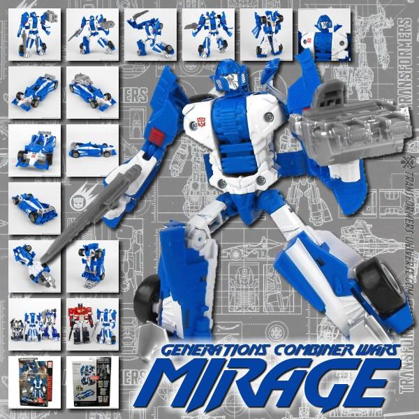 Combiner Wars Mirage