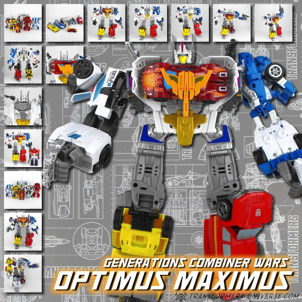 Combiner Wars Optimus Maximus