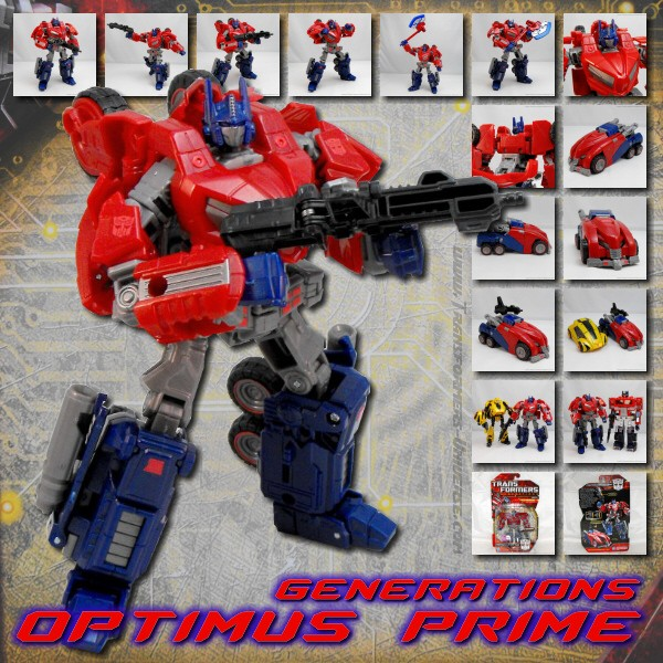 Generations Optimus Prime