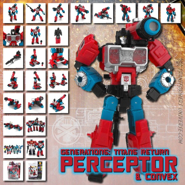 Titans Return Perceptor & Convex