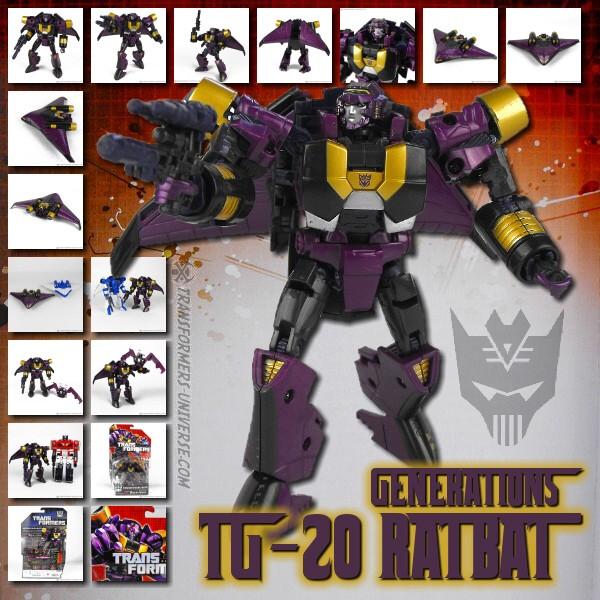 Generations TG-20 Ratbat
