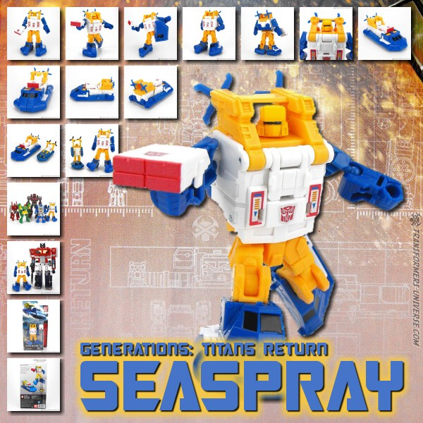Titans Return Seaspray