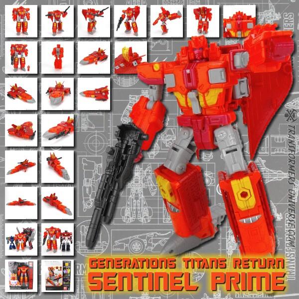 Generations Sentinel Prime & Infinitus