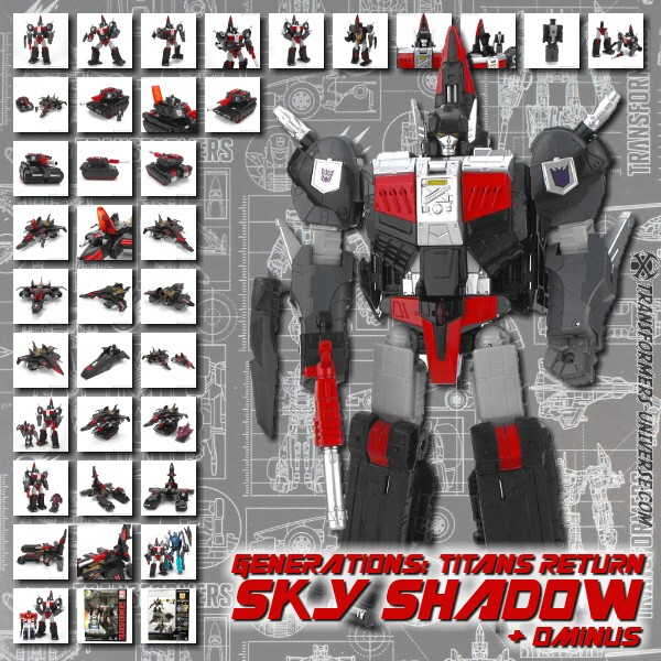 Titans Return Sky Shadow & Ominus