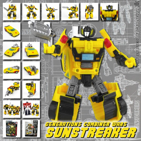 Combiner Wars Sunstreaker