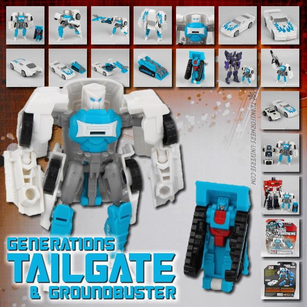 Generations Tailgate & Groundbuster