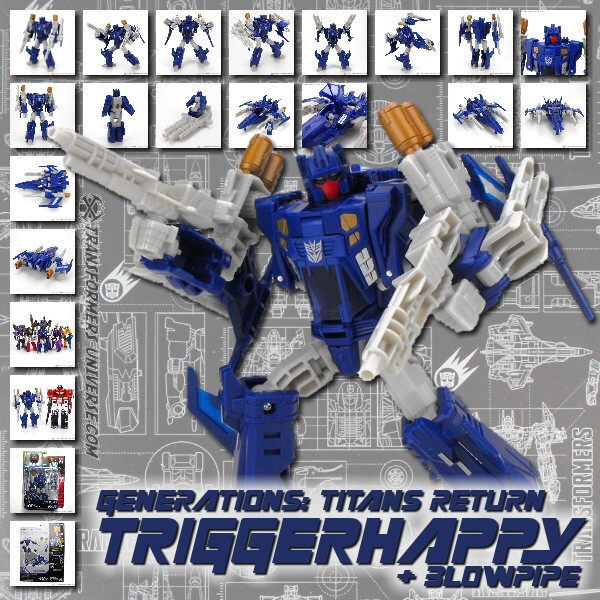 Titans Return Triggerhappy & Blowpipe