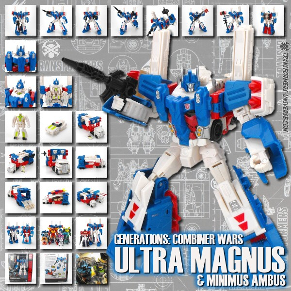 Combiner Wars Ultra Magnus & Minimus Ambus