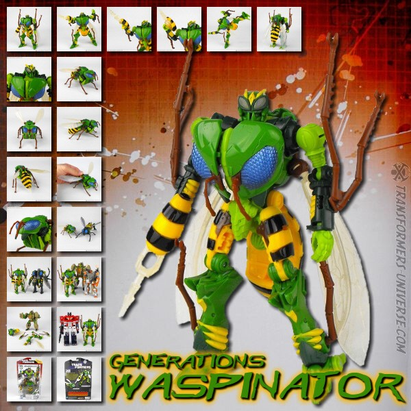 Generations Thrilling 30 Waspinator (2014)