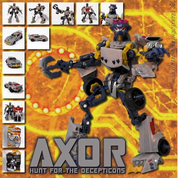 Hunt for the Decepticons  Axor (2010)