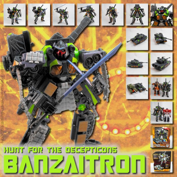 Hunt for the Decepticons  Banzaitron (2010)