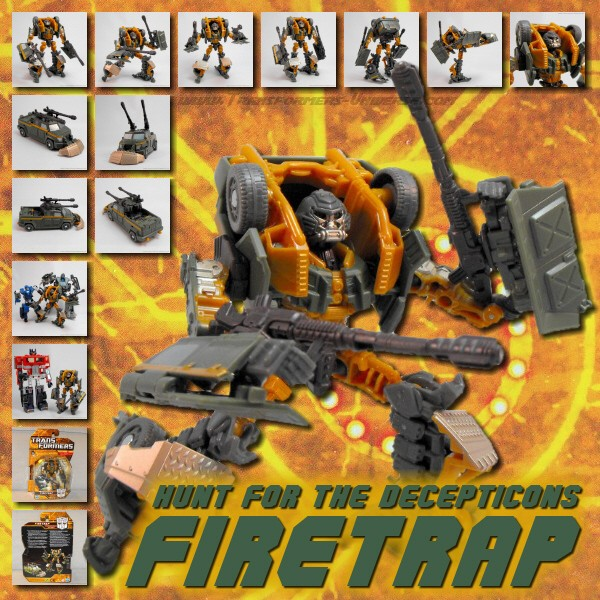 Hunt for the Decepticons  Firetrap (2010)