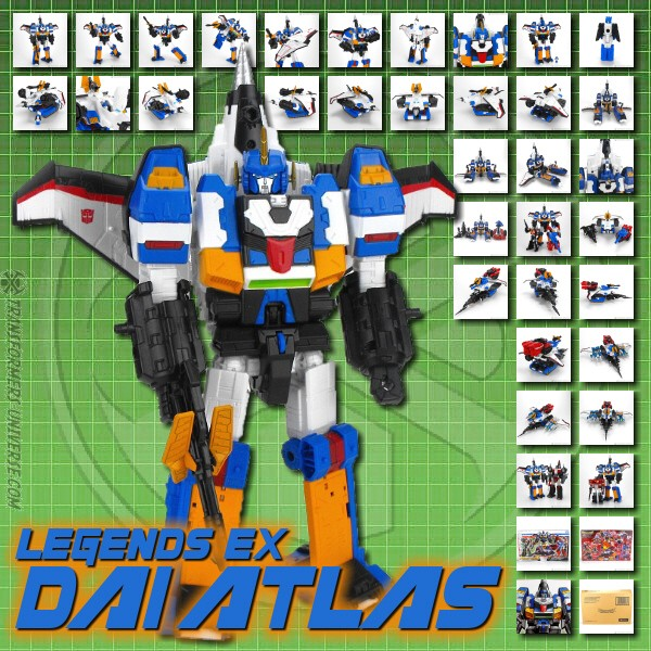Legends EX Dai Atlas