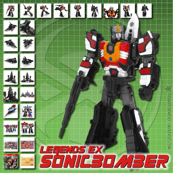 Legends EX Sonicbomber