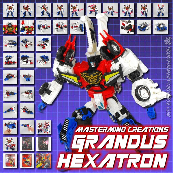 Mastermind Creations Grandus Hexatron