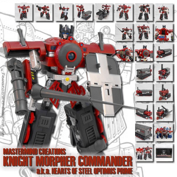 MMC Knight Morpher Commander