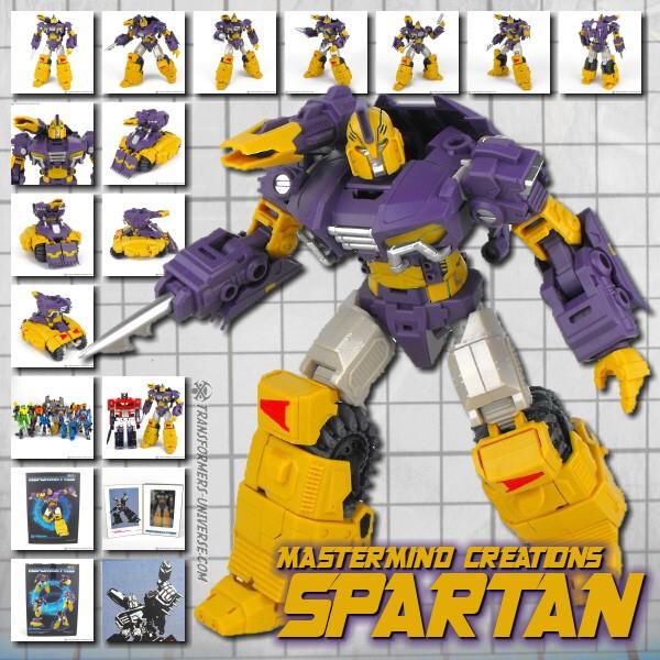 Mastermind Creations Spartan