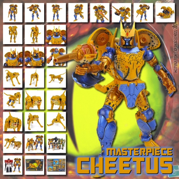 Masterpiece Cheetus