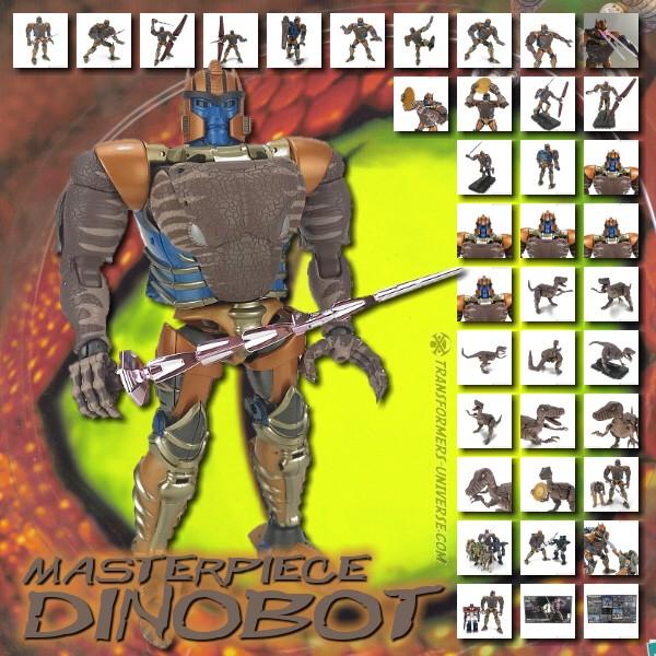 Masterpiece Dinobot