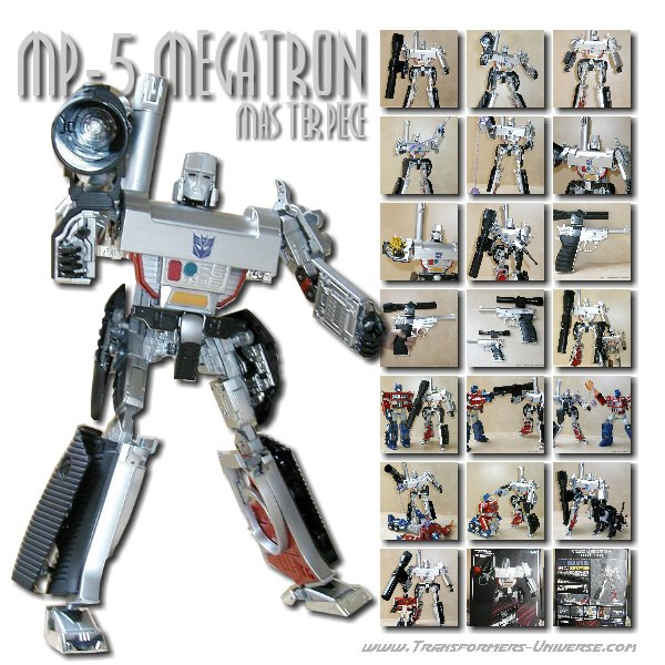 Masterpiece MP-5 Megatron