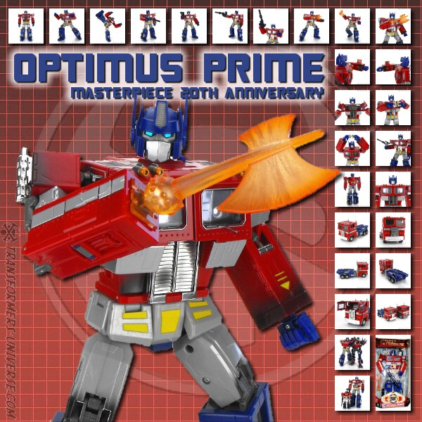 Masterpiece Hasbro Edition Optimus Prime 20th Anniversary (2004)