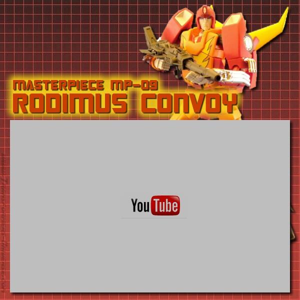 Masterpiece Rodimus Convoy