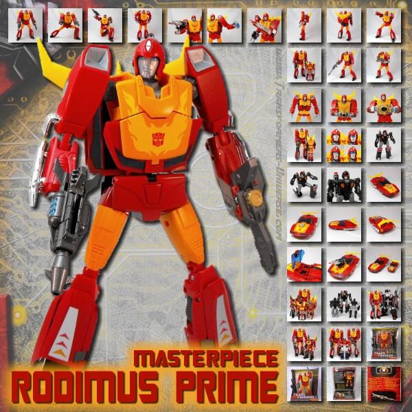 Masterpiece Rodimus Prime