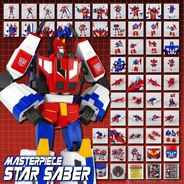 Masterpiece Star Saber