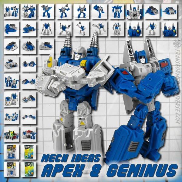 Mech Ideas Apex & Geminus
