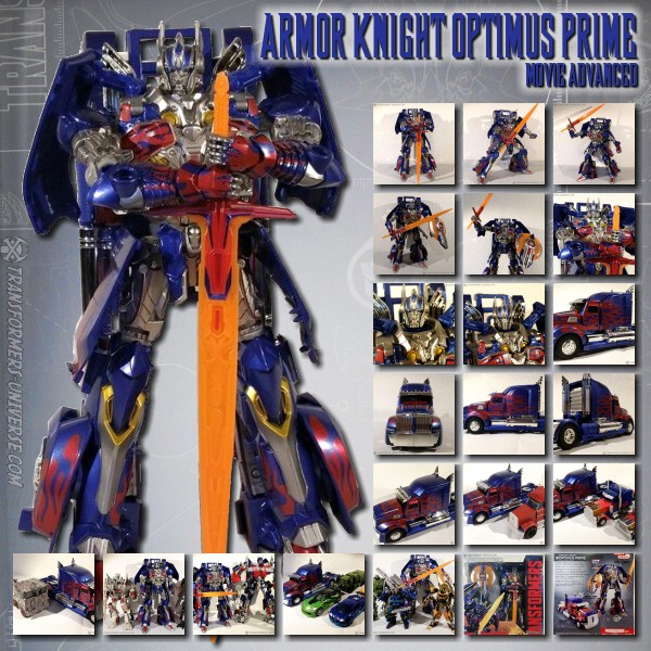 Movie Advanced  Armor Knight Optimus Prime (2014)