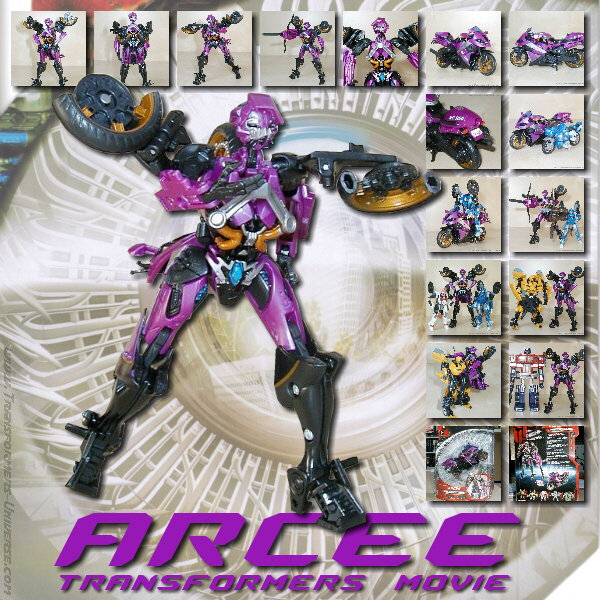 Movie Arcee Deluxe