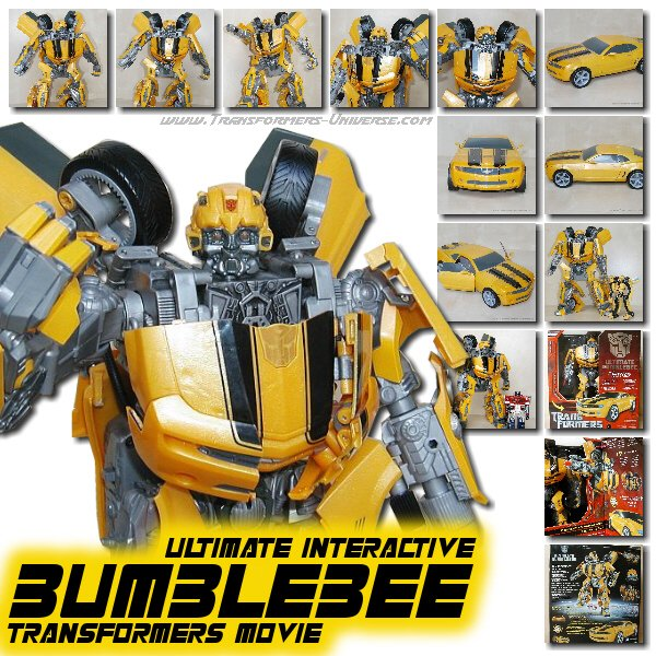 Movie Bumblebee Ultimate Interactive