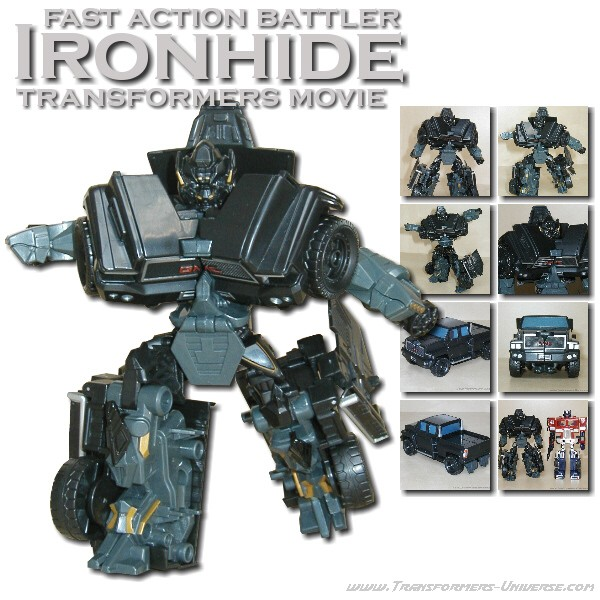 Movie Ironhide Fast Action Battler